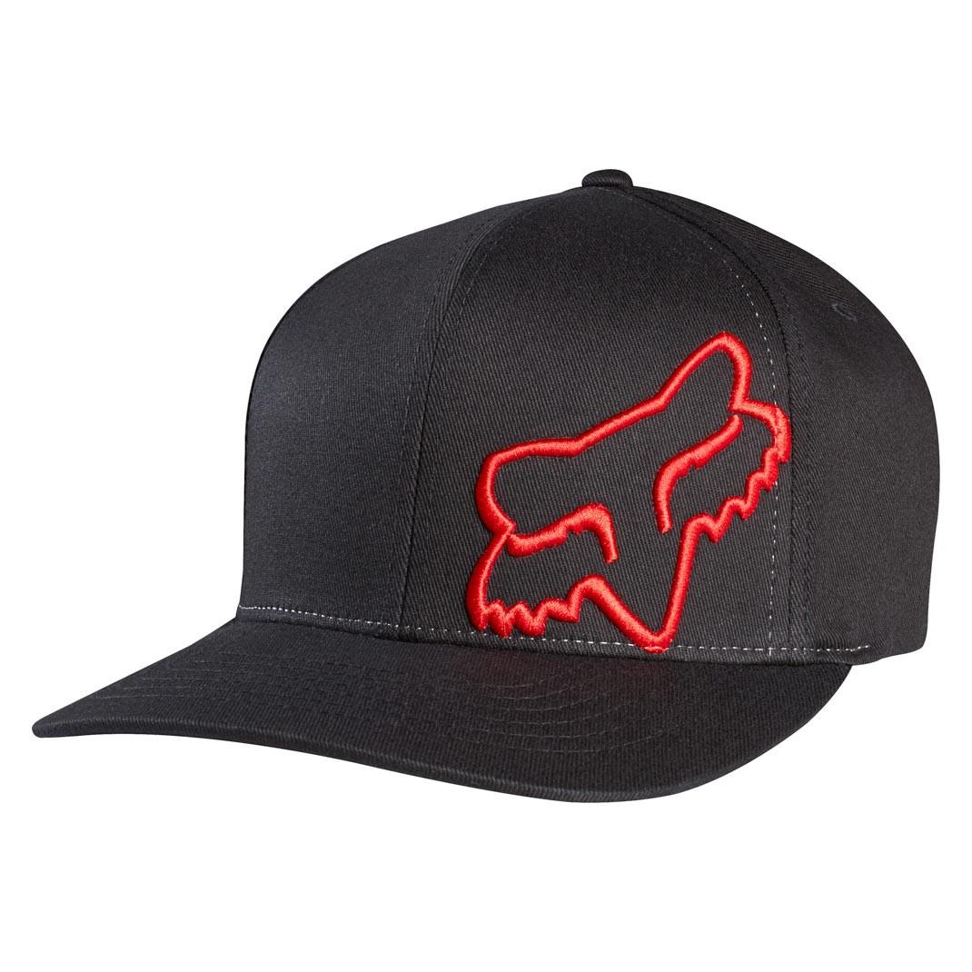 Kšiltovka Fox Flex 45 black/red