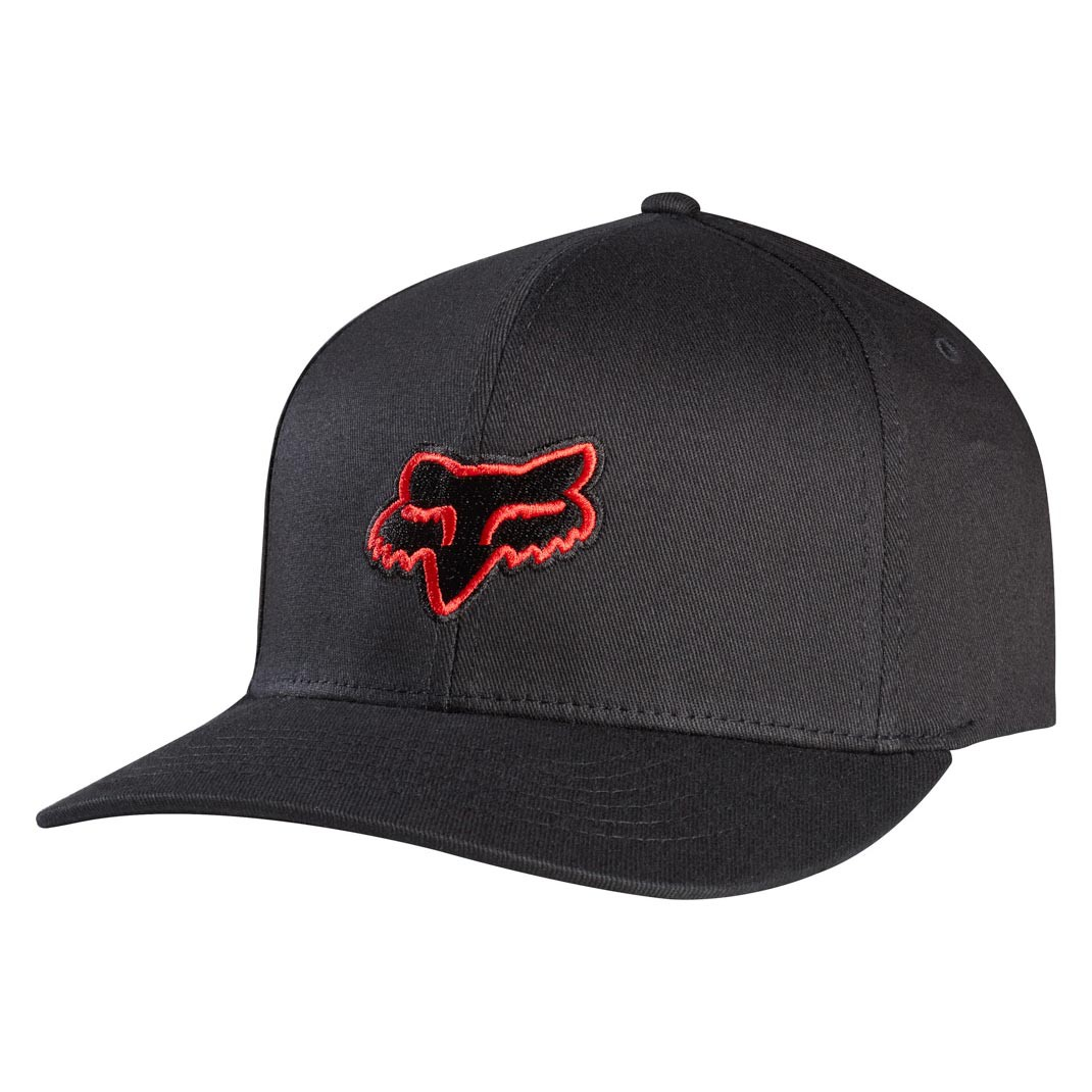 Kšiltovka Fox Legacy black/red vel.S/M 16 + doručení do 24 hodin