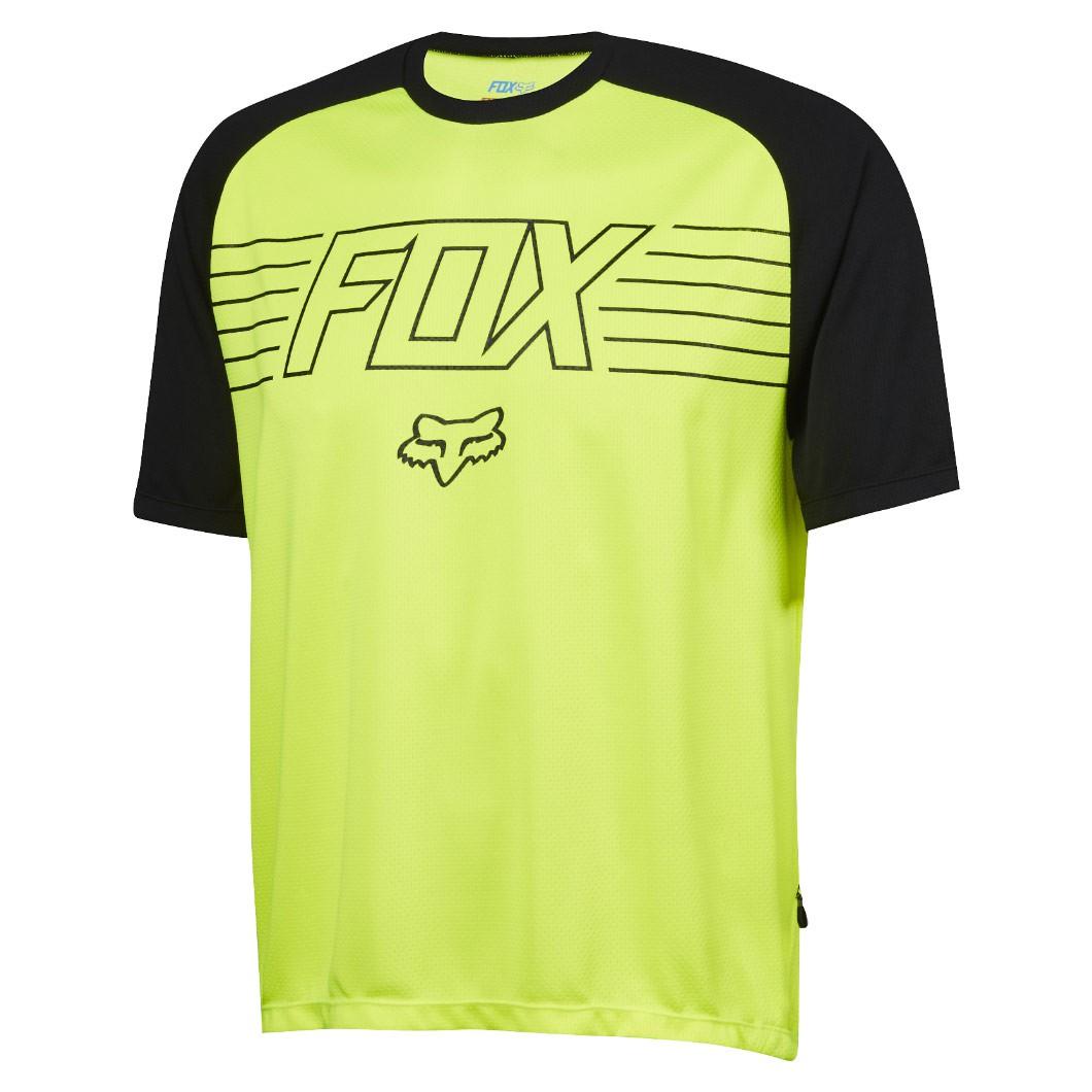 Dres Fox Ranger Ss Prints Jersey flo yellow