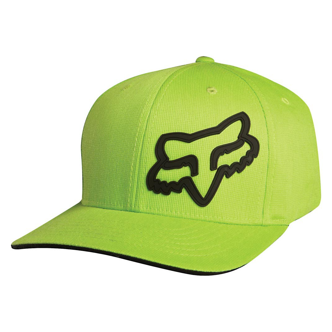 Kšiltovka Fox Signature green