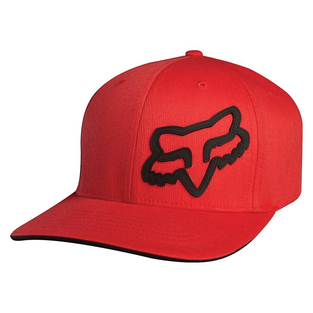 Kšiltovka Fox Signature red