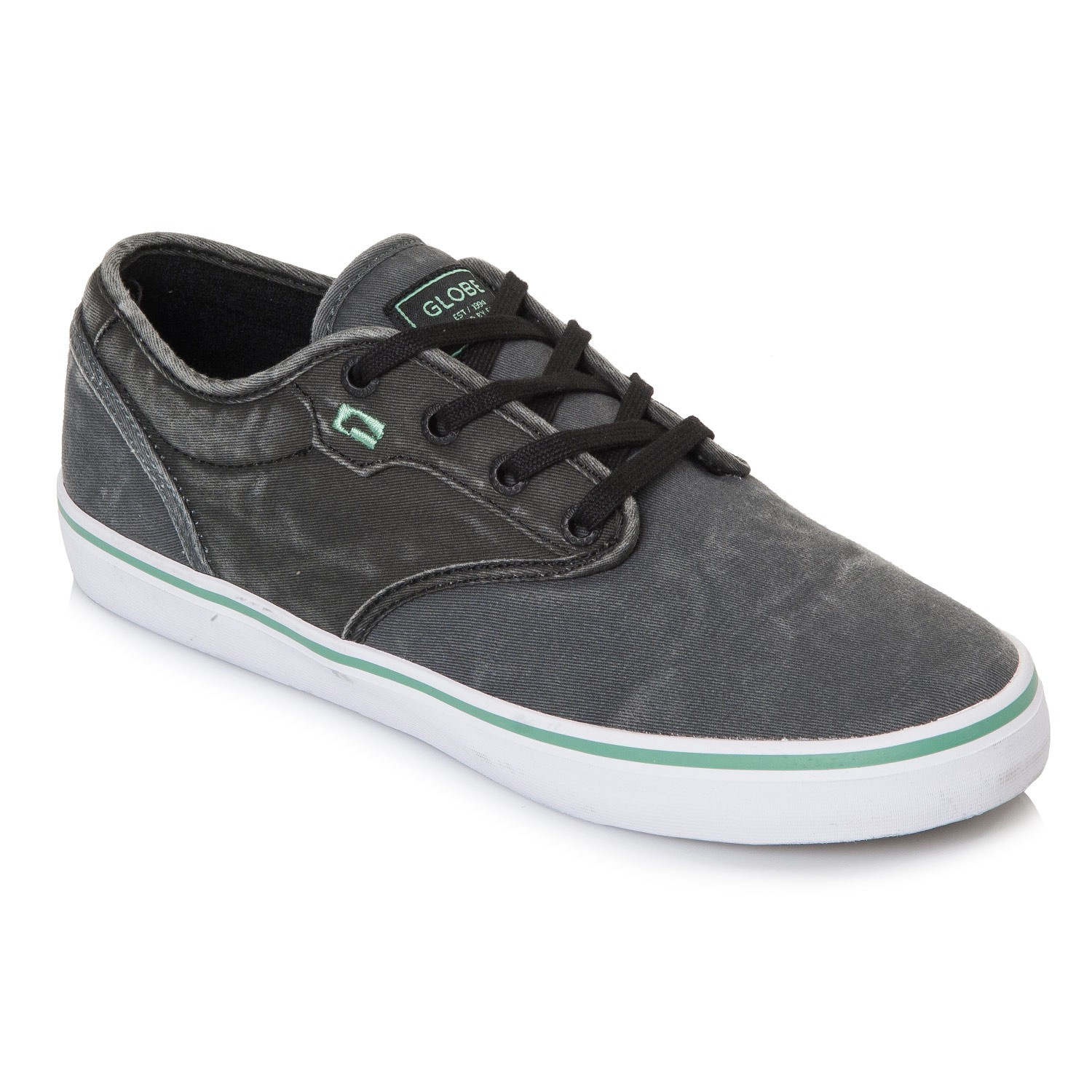 Tenisky Globe Motley dark shadow/black wash