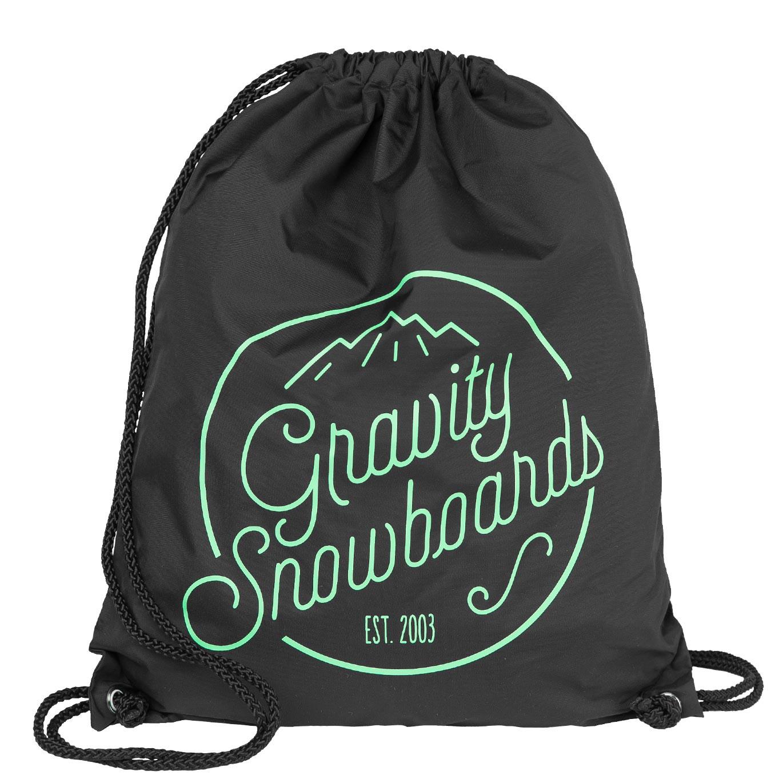 Pytlík na boty Gravity Connie Cinch Bag black