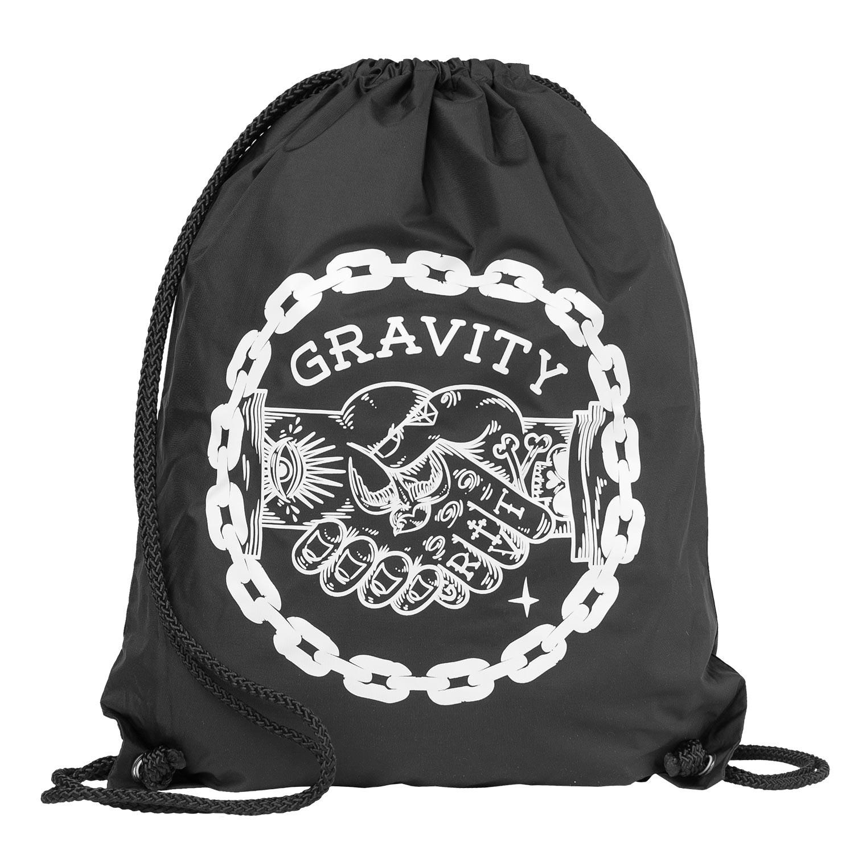 Pytlík na boty Gravity Handshake Cinch Bag black
