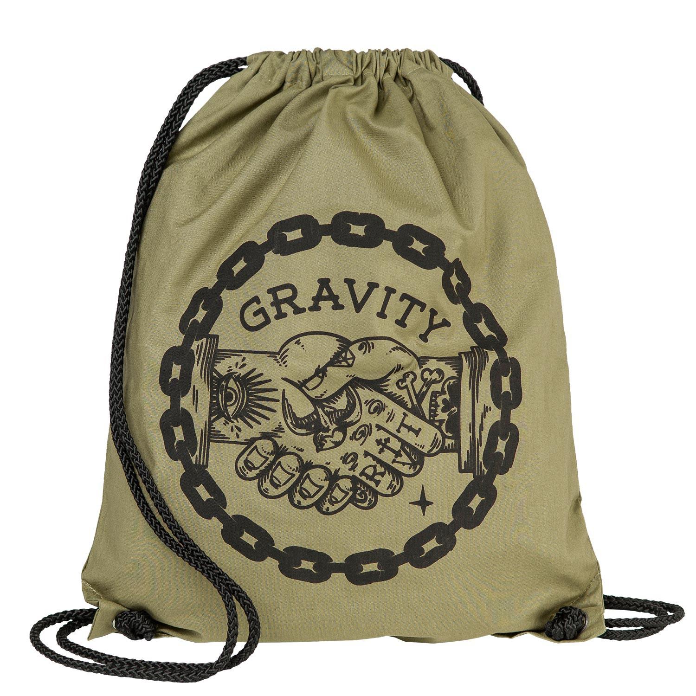 Pytlík na boty Gravity Handshake Cinch Bag canvas