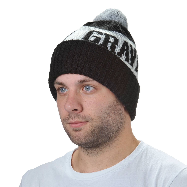 Zimní čepice Gravity Jimbo black