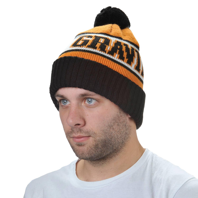 Zimní čepice Gravity Jimbo orange