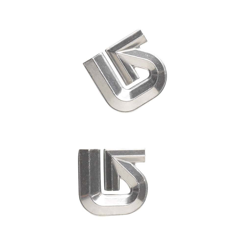 Grip Burton Aluminum Logo Mats silver