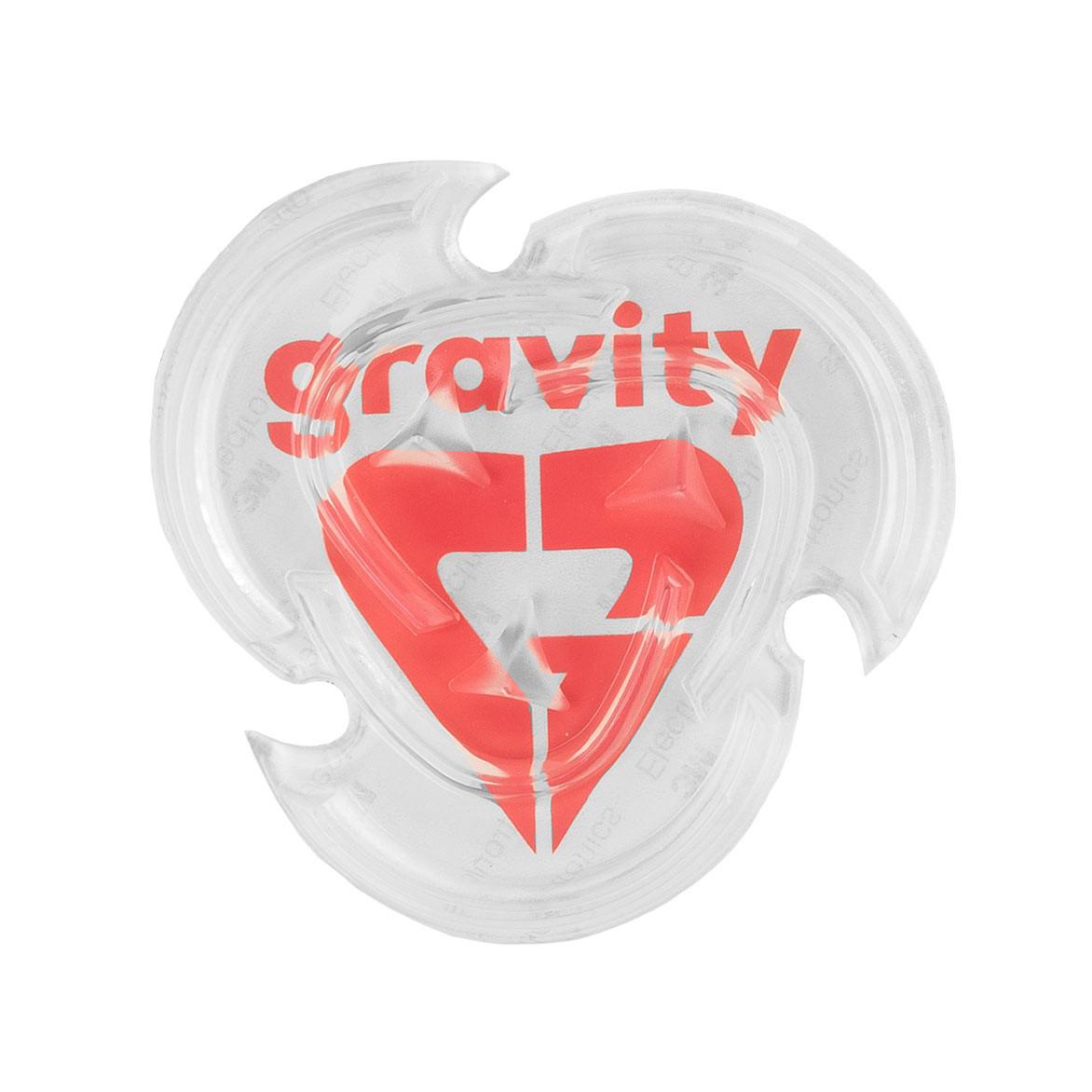 Grip Gravity Heart Mat clear