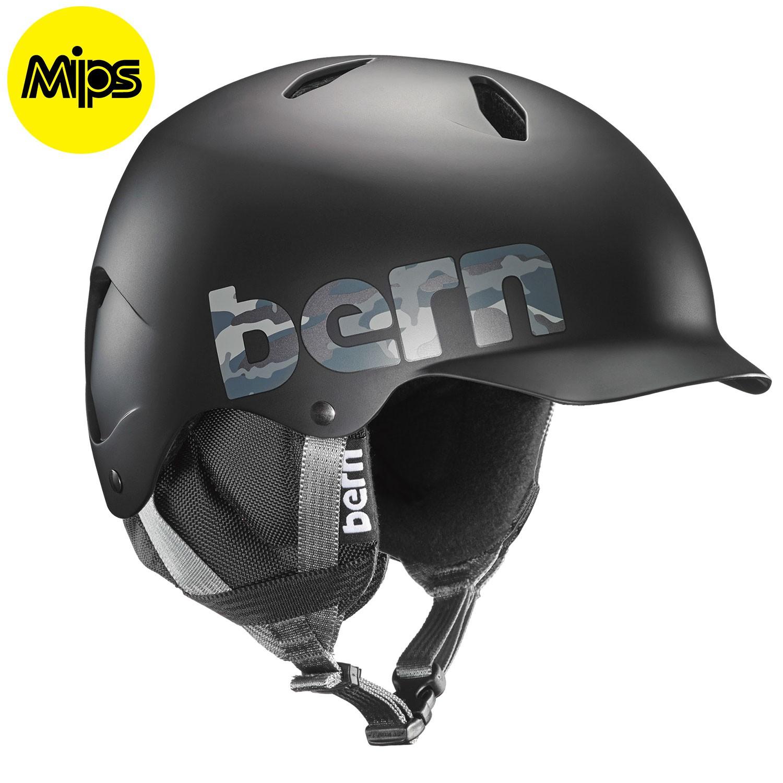 Helma Bern Bandito Jr Mips matte black camo logo