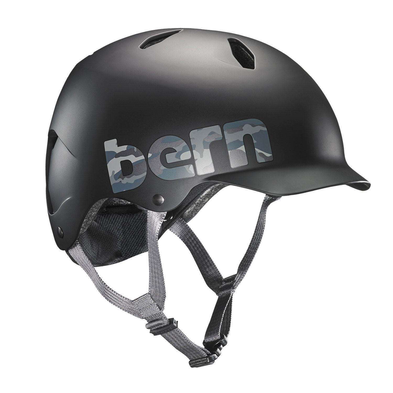 Helma Bern Bandito matte black camo logo
