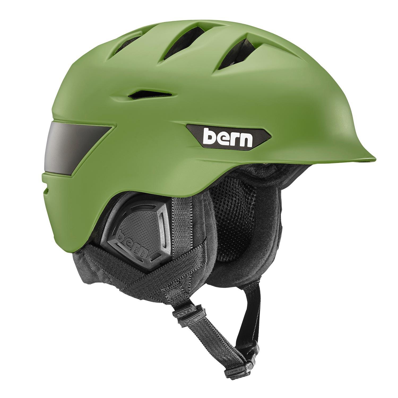 Helma Bern Rollins matte fatigue green vel.L/XL (57-60,5 cm) 16/17 + doručení do 24 hodin