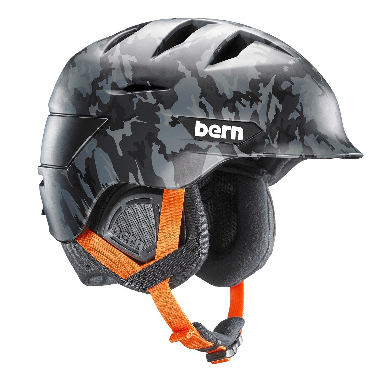 Helma Bern Rollins matte grey camo vel.L/XL (57-60,5 cm) 16/17 + doručení do 24 hodin