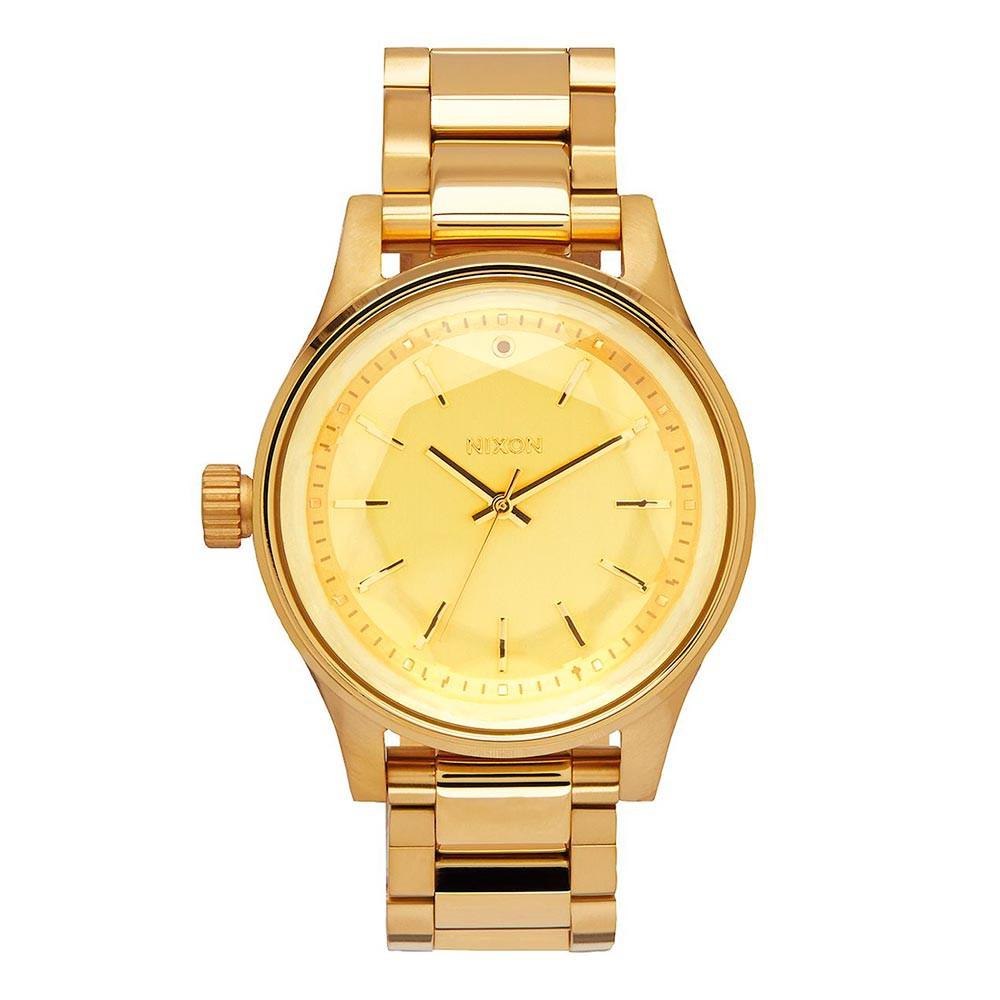 Hodinky Nixon Facet 38 all gold