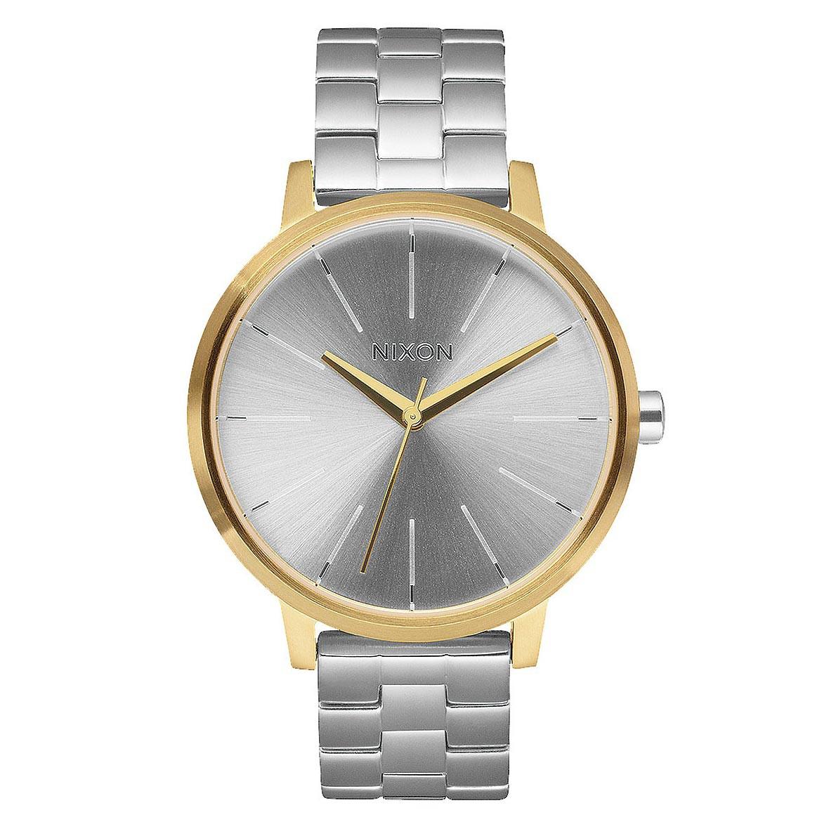 Hodinky Nixon Kensington gold/silver/silver vel.ocel 16 + doručení do 24 hodin