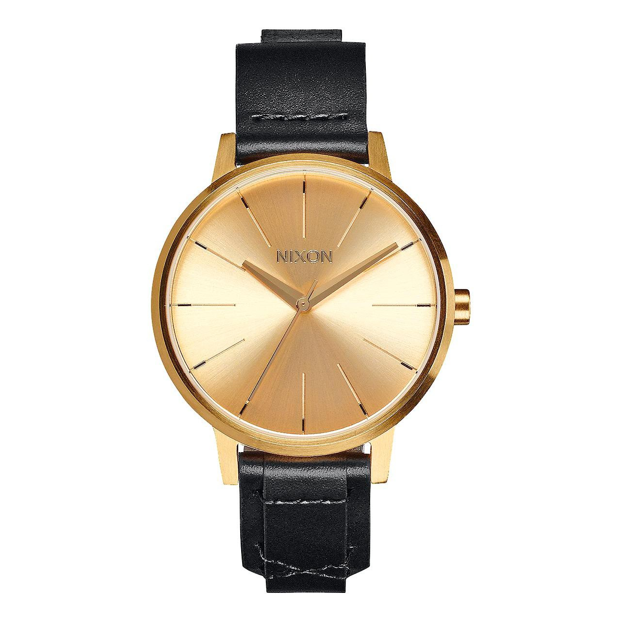 Hodinky Nixon Kensington Leather gold/bridle