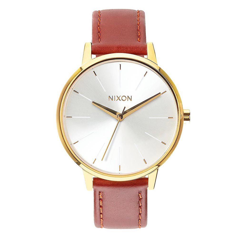 Hodinky Nixon Kensington Leather gold/saddle