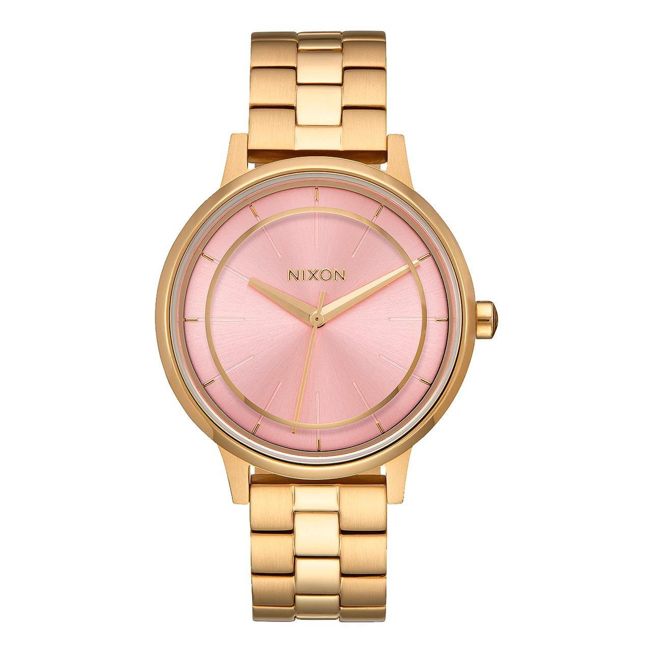 Hodinky Nixon Kensington light gold/pink vel.ocel 16 + doručení do 24 hodin