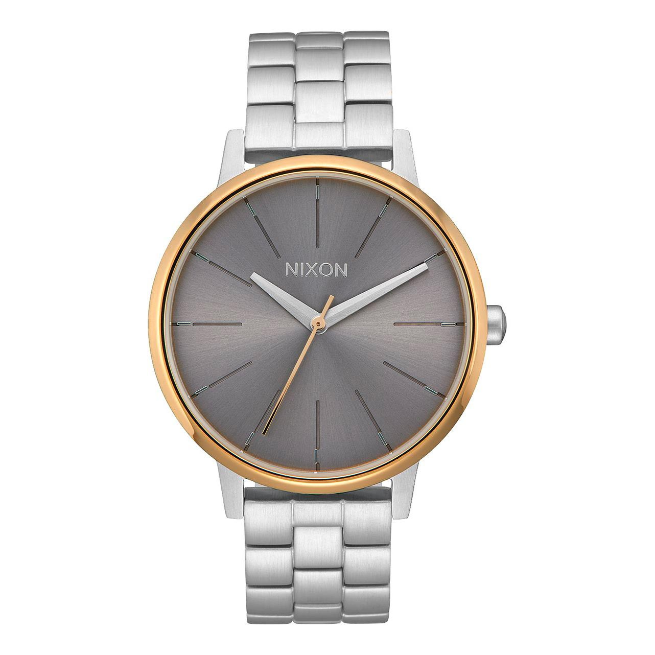Hodinky Nixon Kensington silver/gold/grey vel.ocel 16 + doručení do 24 hodin