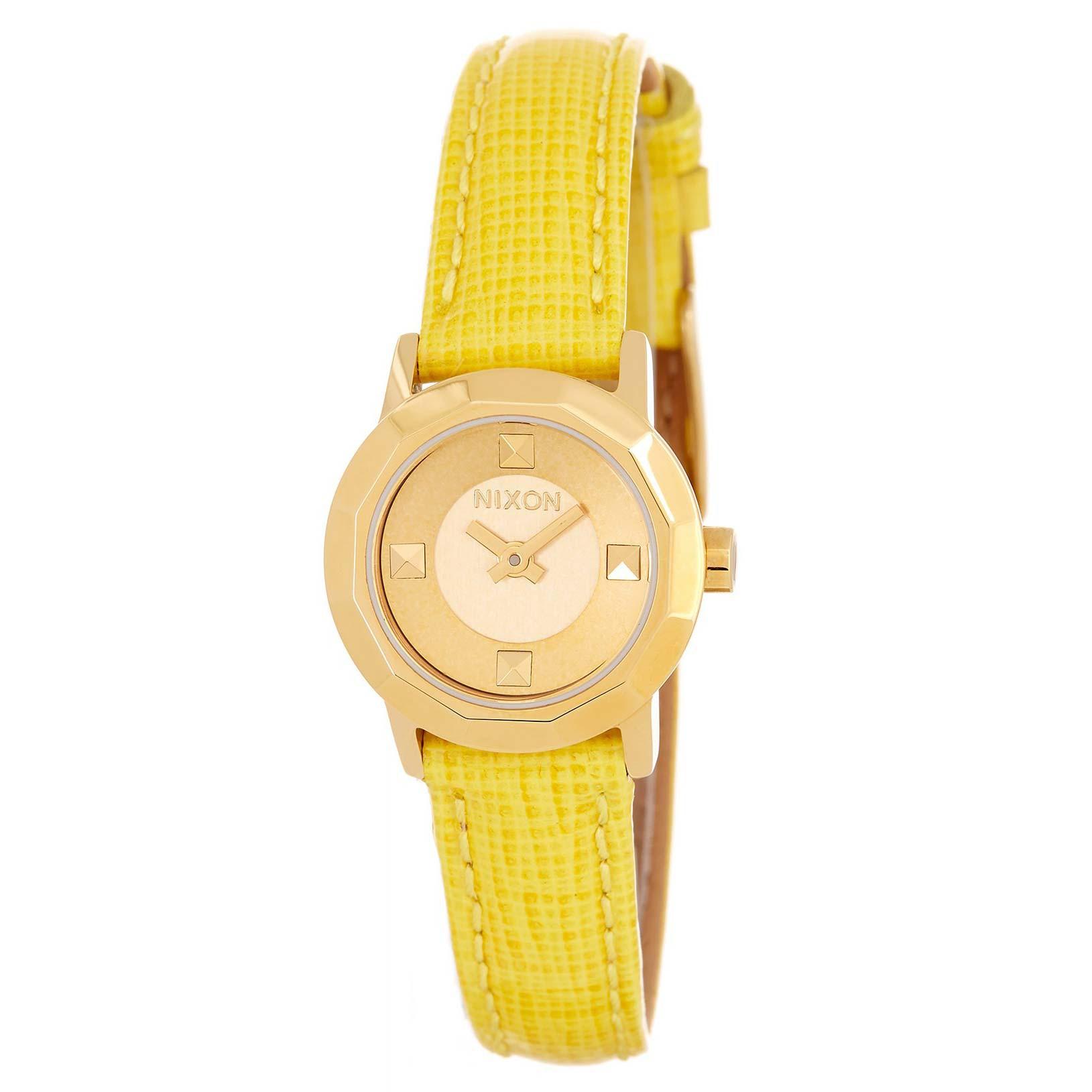 Hodinky Nixon Mini B gold/yellow