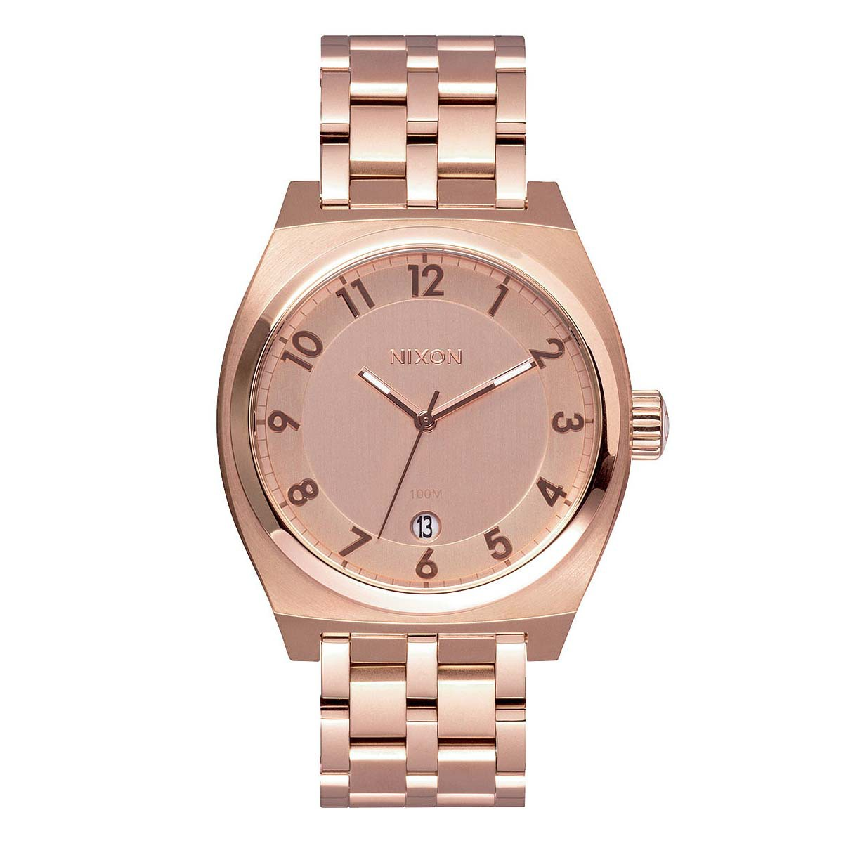 Hodinky Nixon Monopoly all rose gold
