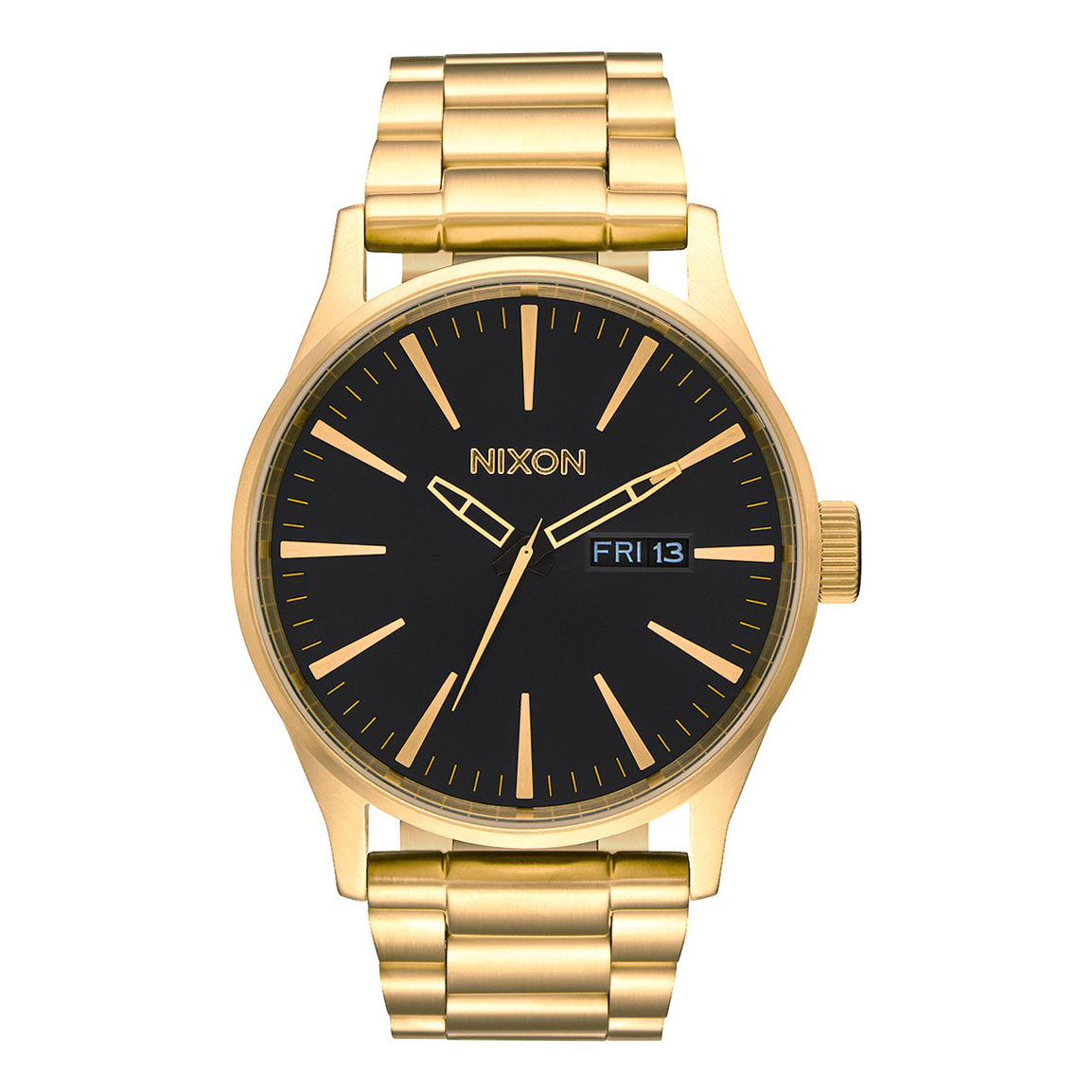 Hodinky Nixon Sentry Ss all gold/black