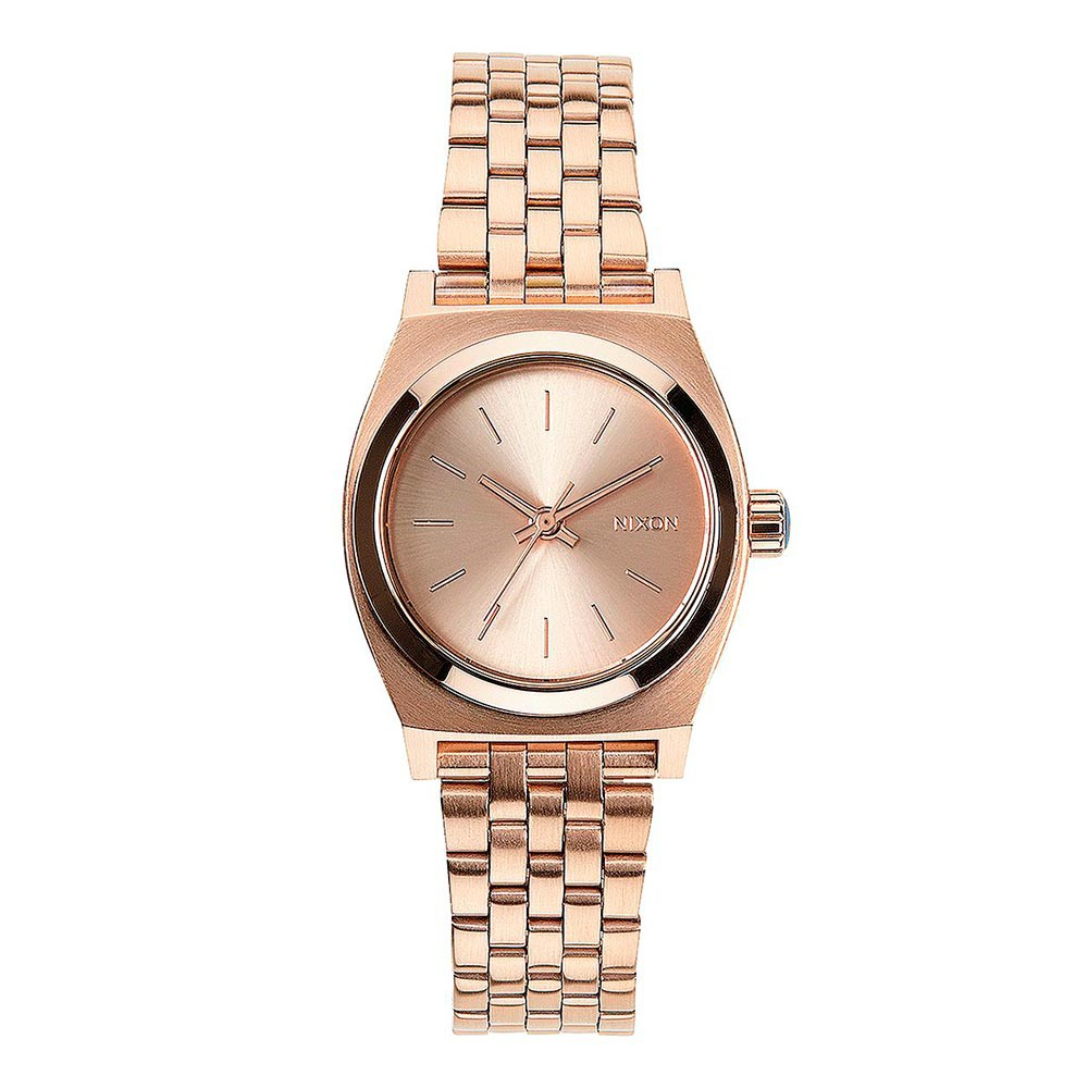 Hodinky Nixon Small Time Teller all rose/gold