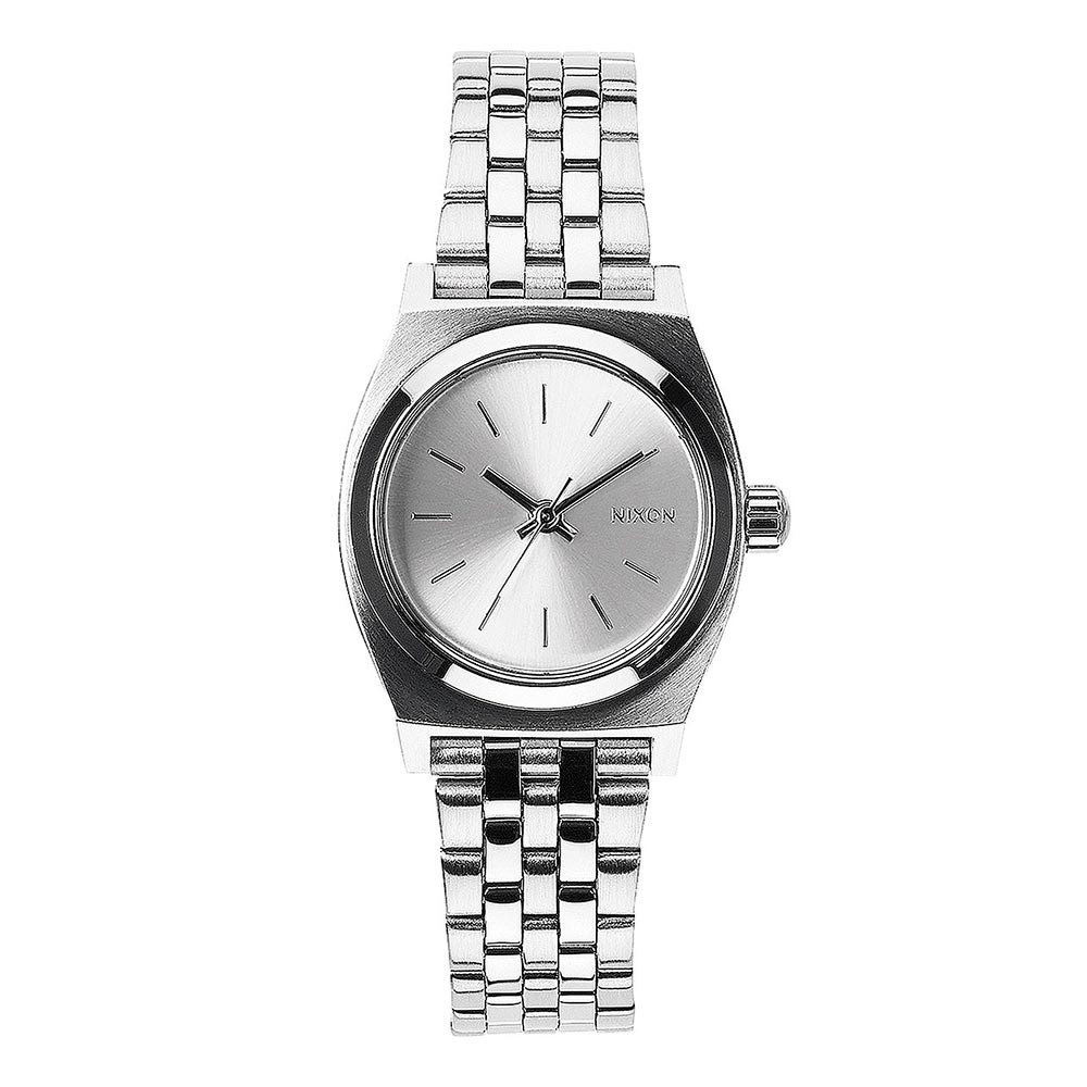 Hodinky Nixon Small Time Teller all silver