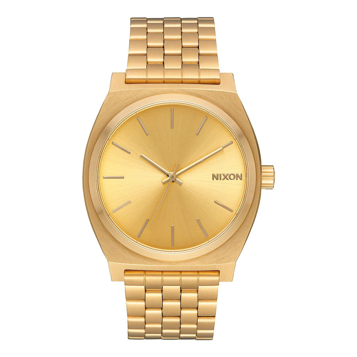 Hodinky Nixon Time Teller all gold/gold