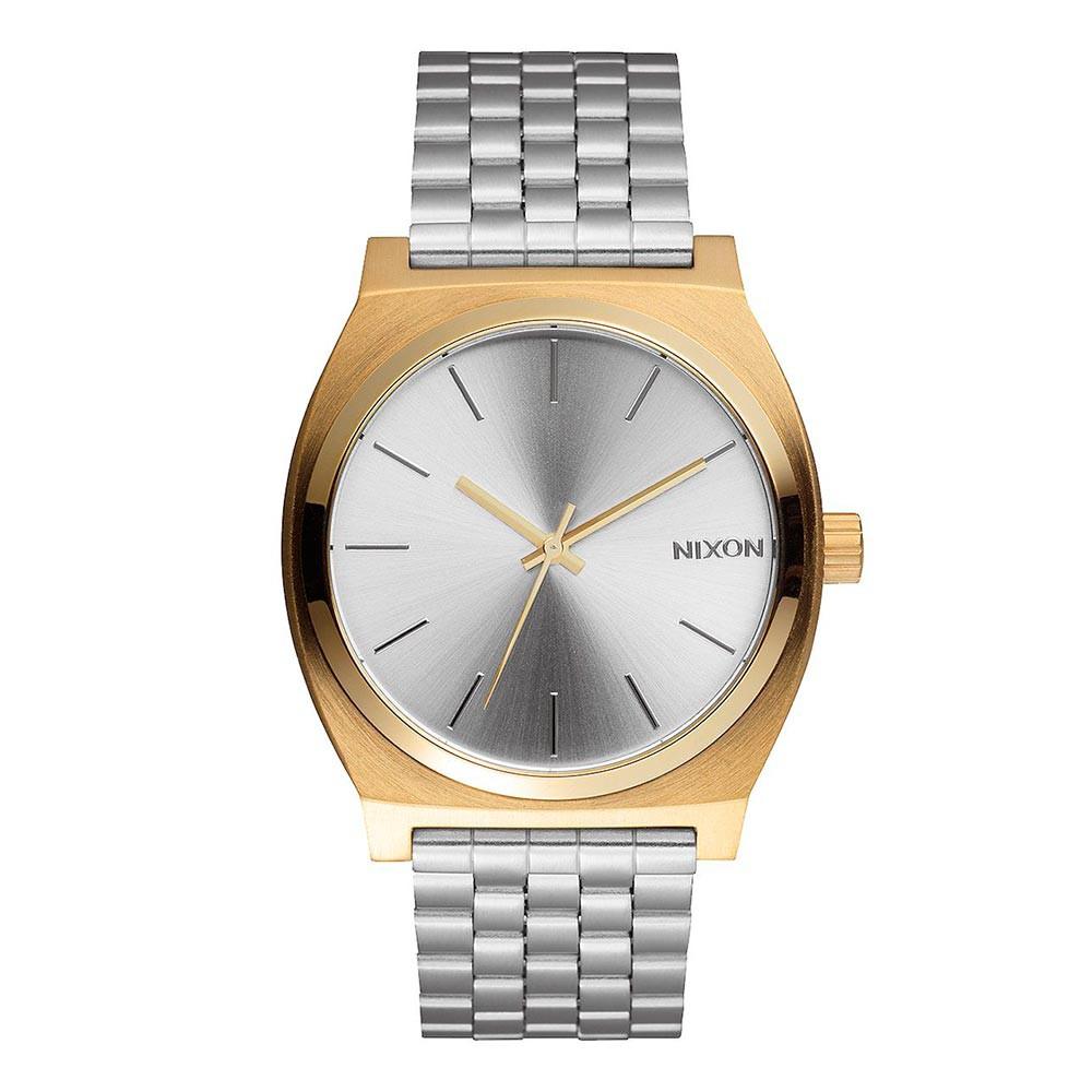 Hodinky Nixon Time Teller gold/silver