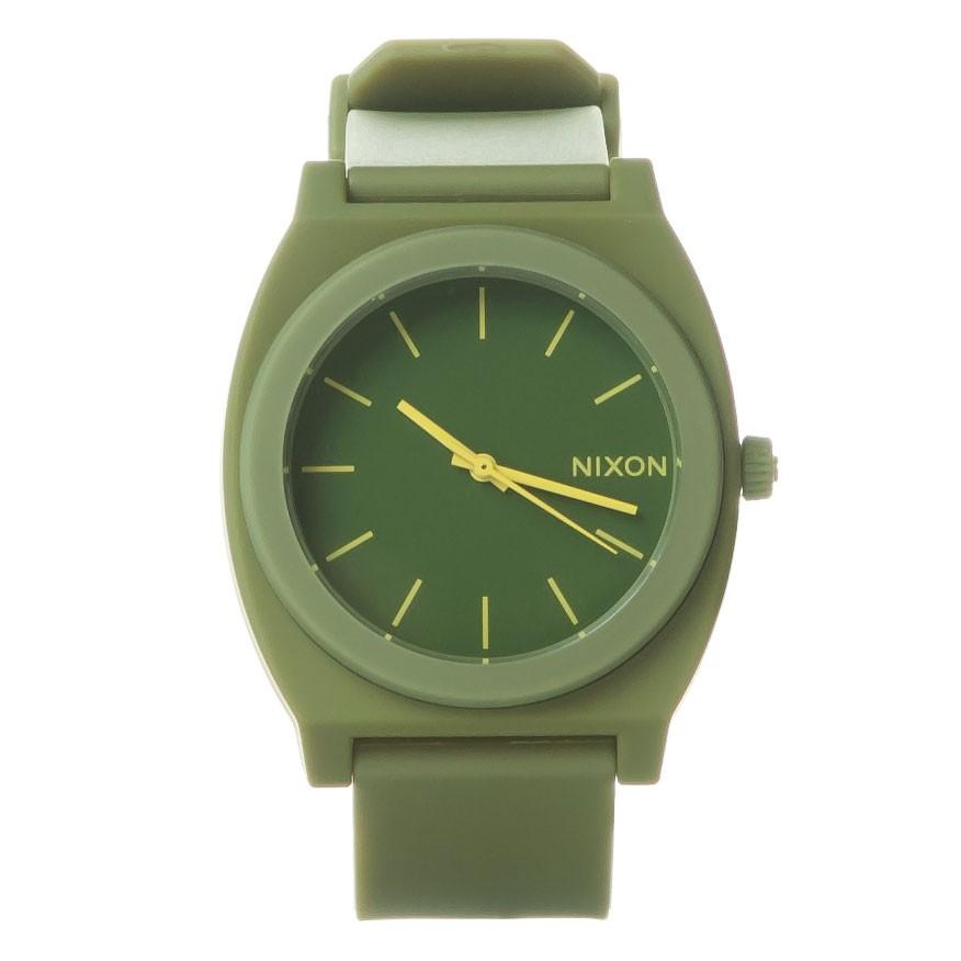 Hodinky Nixon Time Teller P matte army vel.polyuretan 15 + doručení do 24 hodin