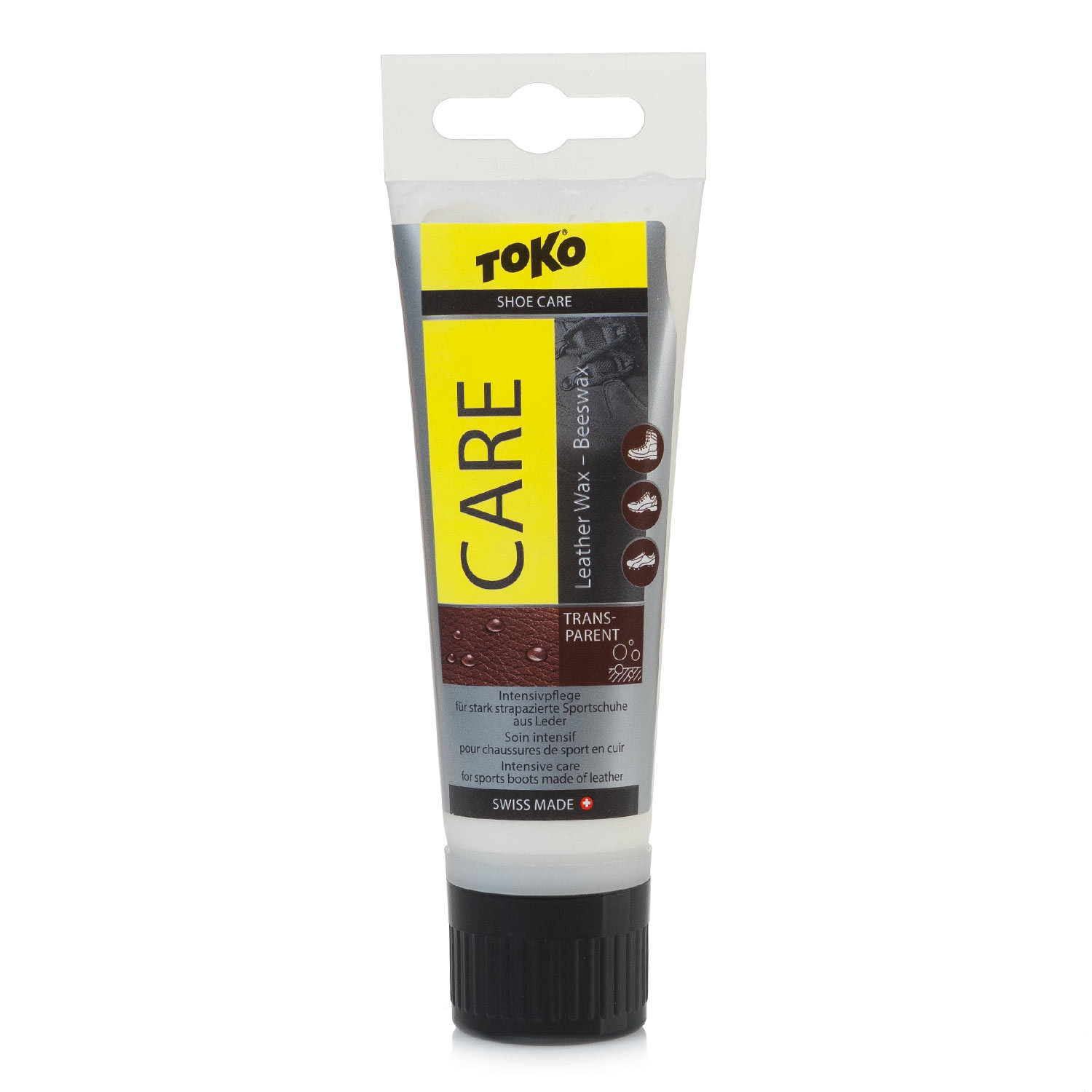 Impregnace Toko Care Leather Wax-Silicone transparent
