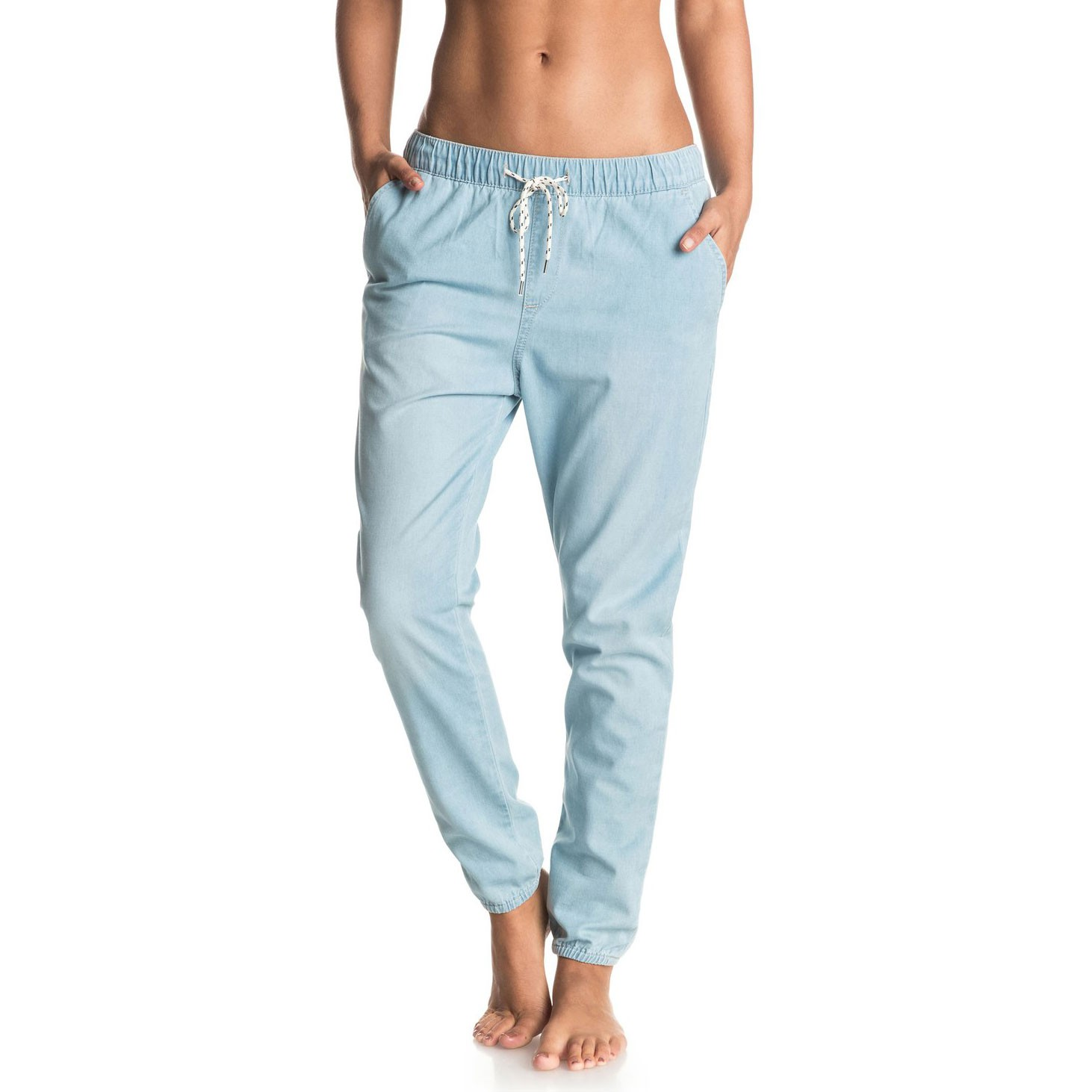 Jeansy Roxy Easy Beachy Denim light blue