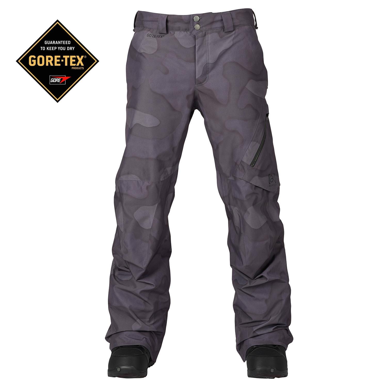 Kalhoty Burton Ak 2L Cyclic true black hombre camo vel.L 16/17 + doručení do 24 hodin