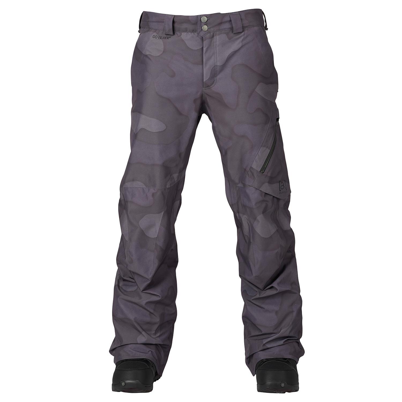 Kalhoty Burton Ak 2L Cyclic true black hombre camo vel.M 16/17 + doručení do 24 hodin