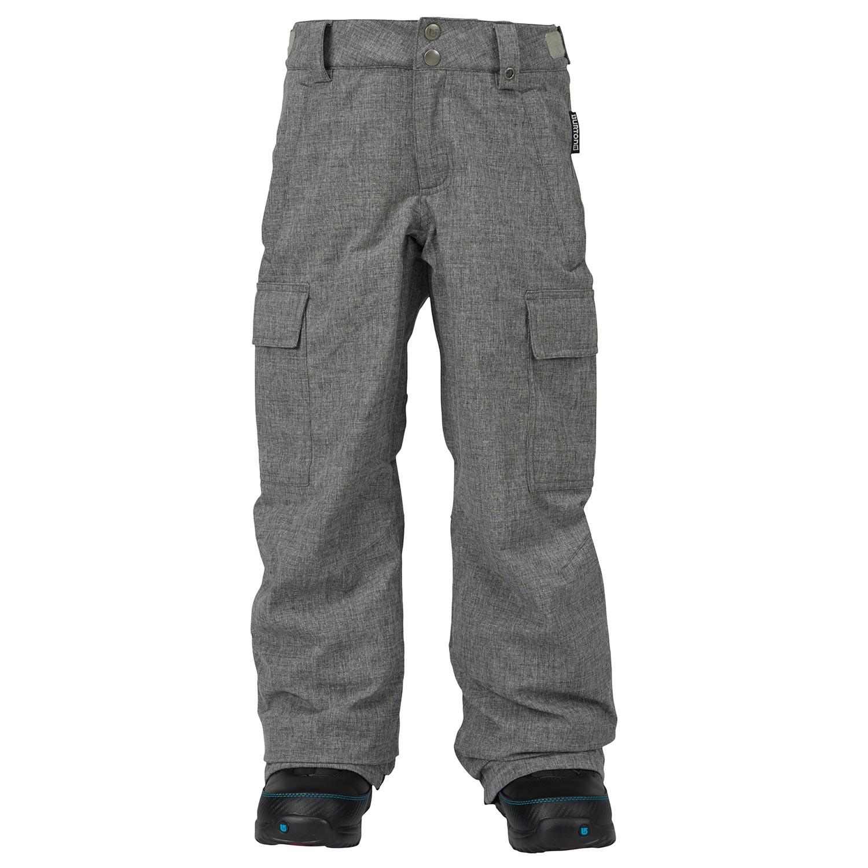 Kalhoty Burton Boys Exile Cargo heather iron grey vel.JR XS 16/17 + doručení do 24 hodin