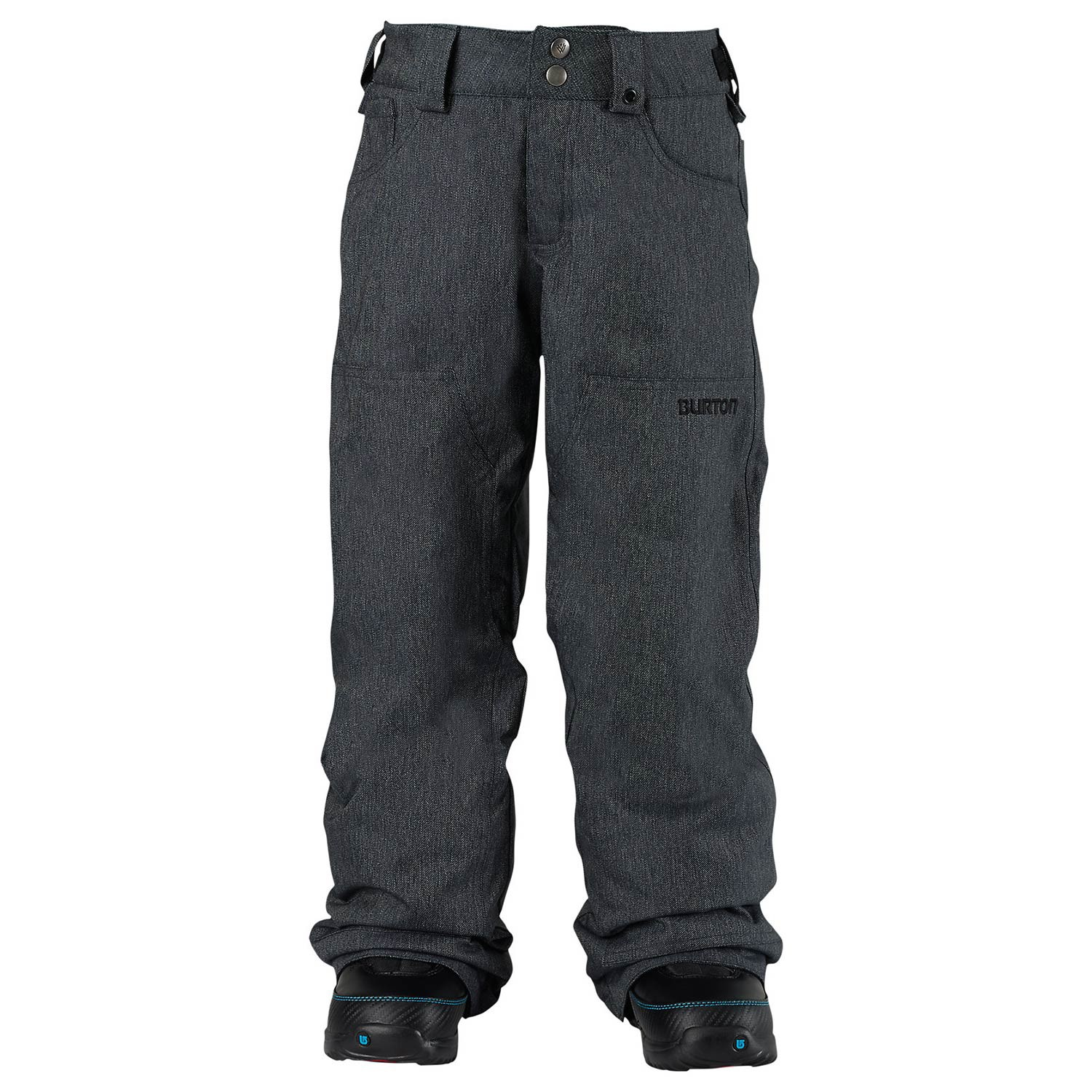 Kalhoty Burton Boys Twc Greenlight black denim