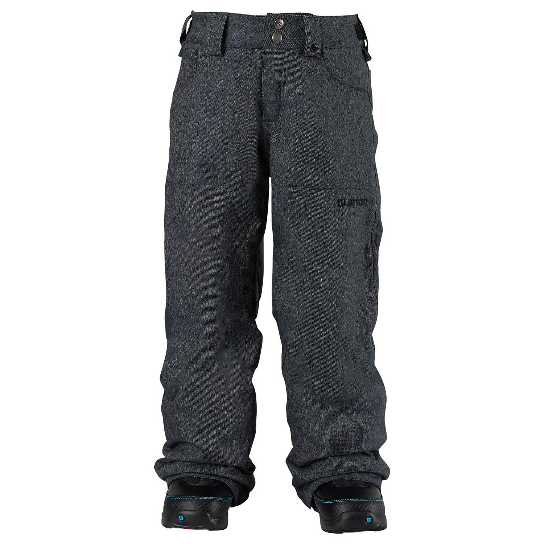 Kalhoty Burton Boys Twc Greenlight black denim