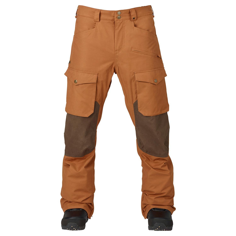 Kalhoty Burton Hellbrook true penny/mocha waxed