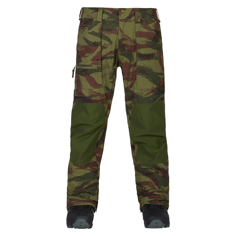 Kalhoty Burton Southside Slim Fit brush camo/rifle green