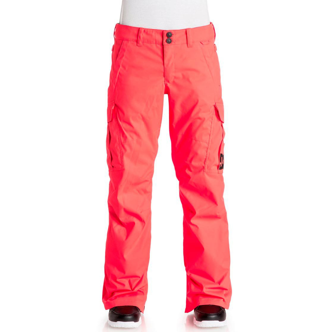 Kalhoty DC Ace fiery coral