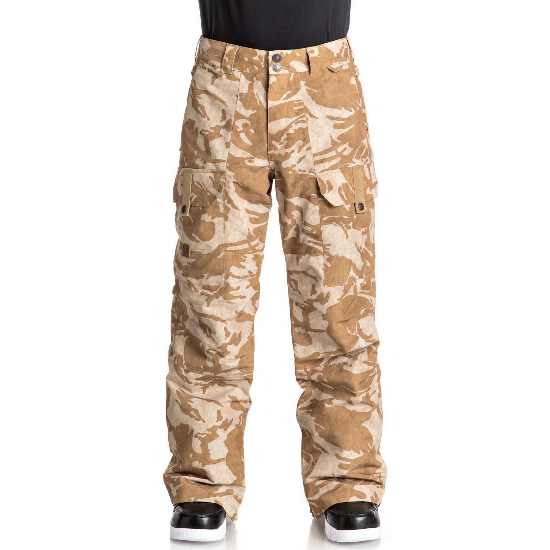 Kalhoty DC Code british woodland camo