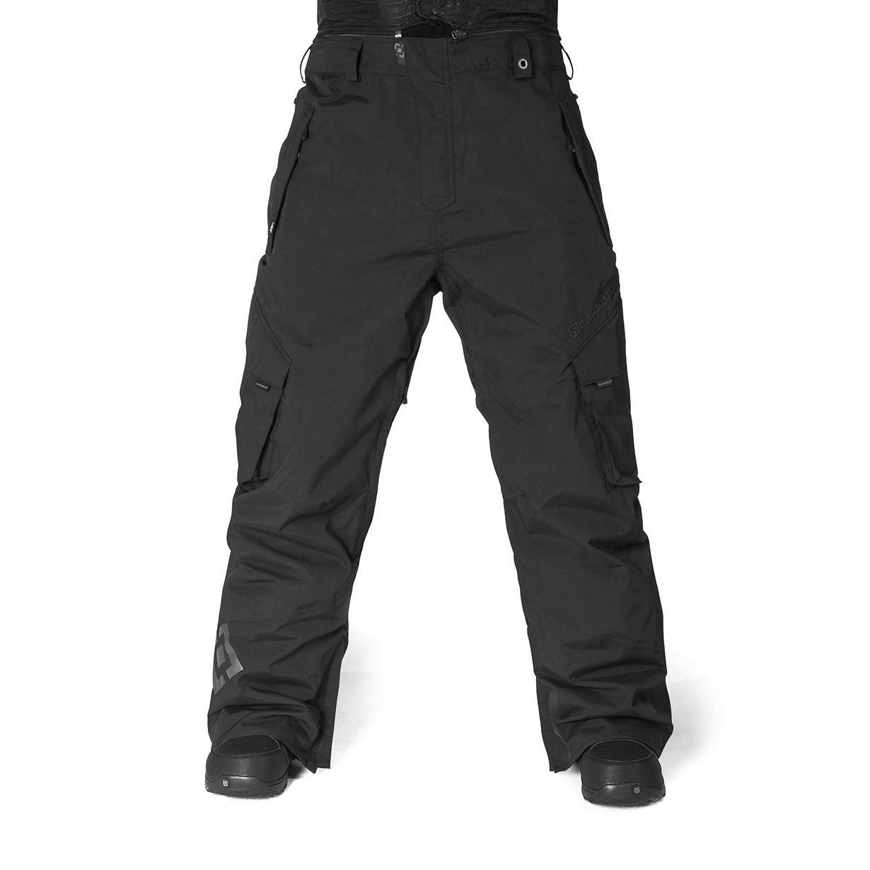 Kalhoty Horsefeathers Benson black