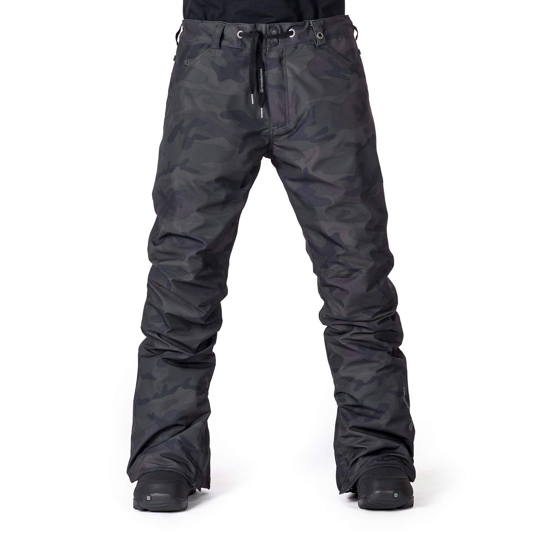 Kalhoty Horsefeathers Cheviot black camo