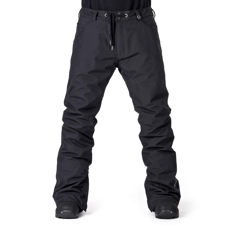 Kalhoty Horsefeathers Cheviot black