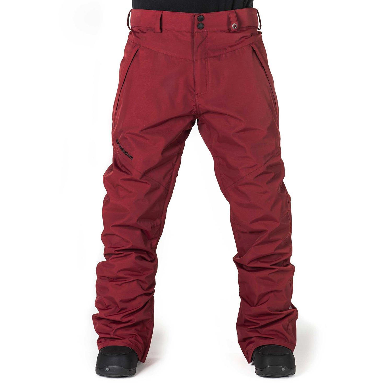 Kalhoty Horsefeathers Cronus dark red