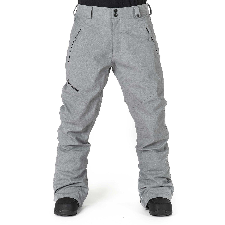 Kalhoty Horsefeathers Cronus gray melange
