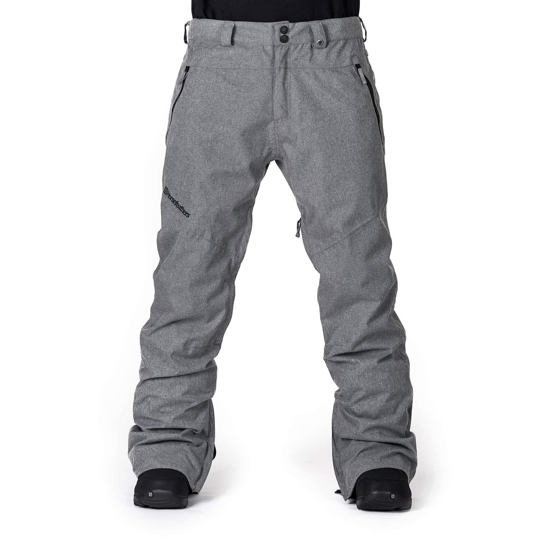 Kalhoty Horsefeathers Elkins grey melange