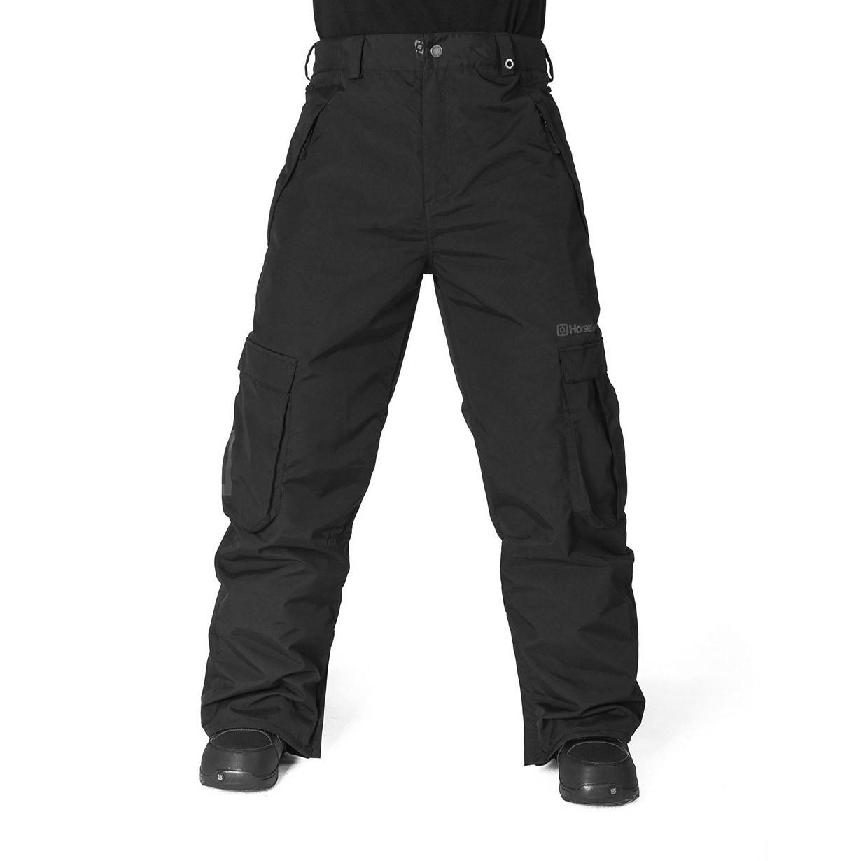 Kalhoty Horsefeathers Josh black vel.XL 15/16 + doručení do 24 hodin