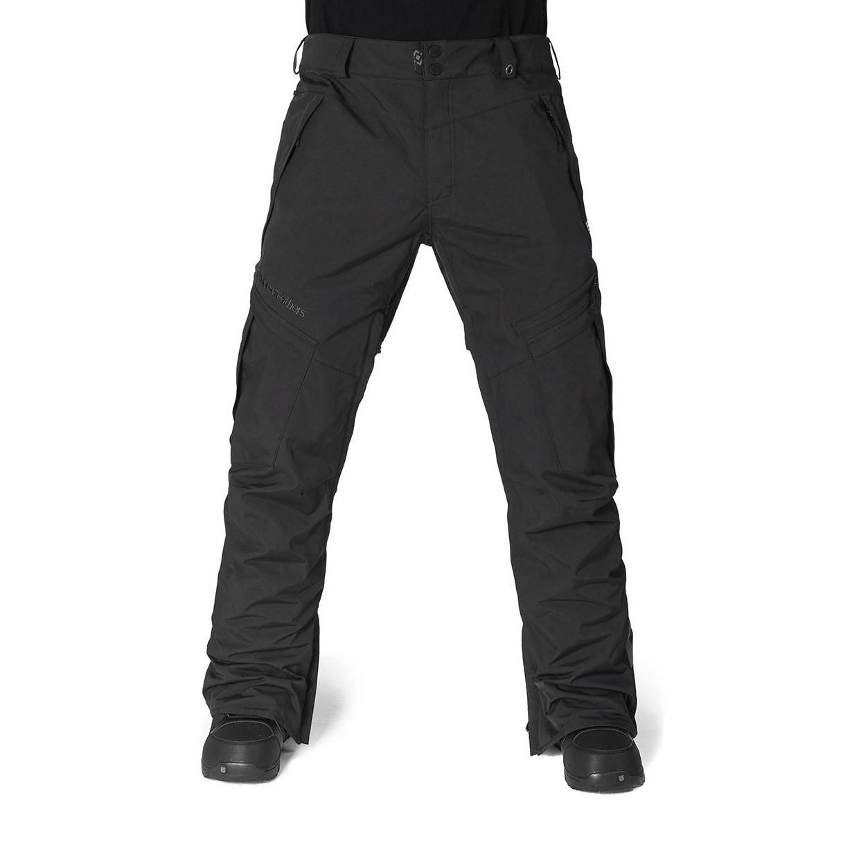 Kalhoty Horsefeathers Motive black